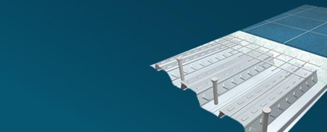 Você conhece a laje steel deck?